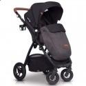 Детская прогулочная коляска EasyGo Optimo Air 2019 Anthracite