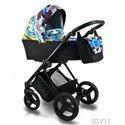 Детская коляска 2 в 1 Bexa Ultra Style V USV11
