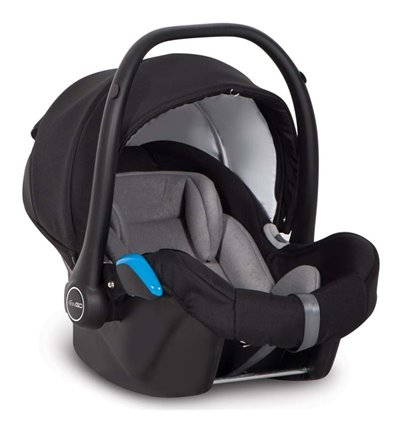 Автокресло детское EasyGo Starter+ Black, 0-13 кг