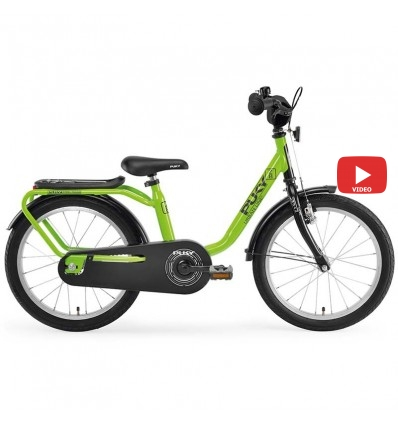 Велосипед двухколесный Puky Z8 зеленый