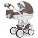 Детская коляска 2 в 1 Riko Brano Luxe Mocca 01
