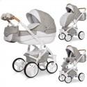 Детская коляска 2 в 1 Riko Brano Luxe Latte 02