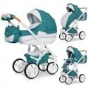 Дитяча коляска 2 в 1 Riko Brano Luxe Malachit 03