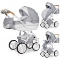 Детская коляска 2 в 1 Riko Brano Luxe Grey Fox 05