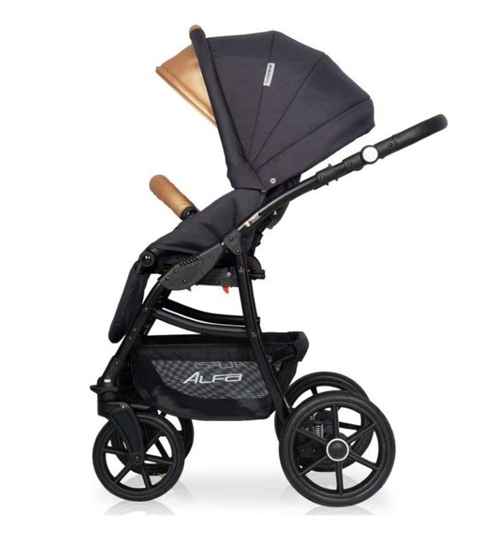 a2ab5ecab Детская коляска 2 в 1 Riko Alfa Ecco 02 Gold: Купить, цена