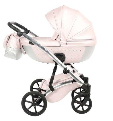 Детская коляска 2 в 1 Tako Cristal 01 розовая