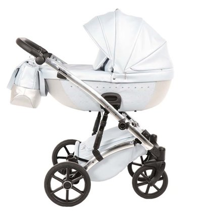 Детская коляска 2 в 1 Tako Cristal 02 белая