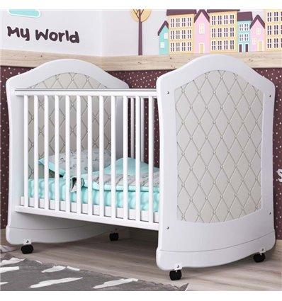 Детская кроватка СидиМ Glamour с ящиком