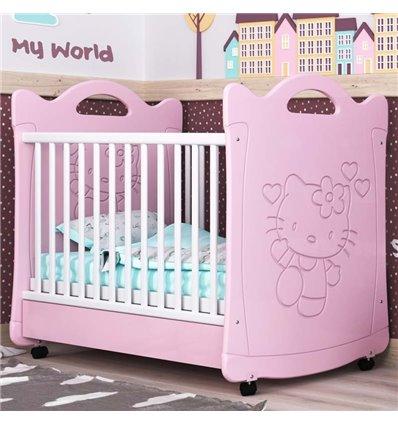 Детская кроватка СидиМ Китти с ящиком