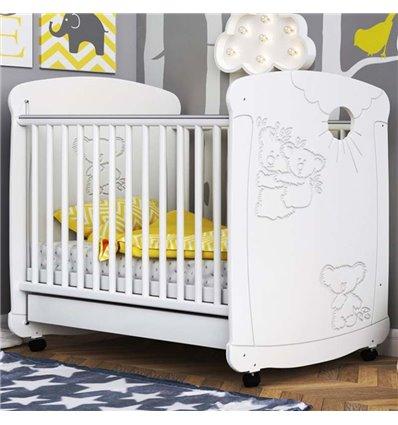 Детская кроватка СидиМ Коалы с ящиком