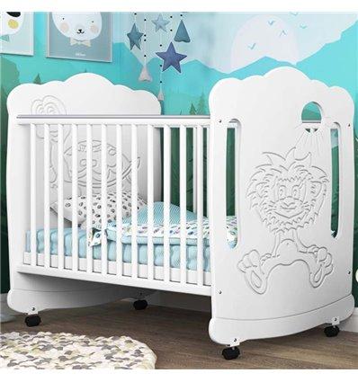 Детская кроватка СидиМ Львенок с ящиком