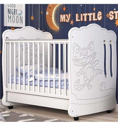 Детская кроватка СидиМ Тандем с ящиком