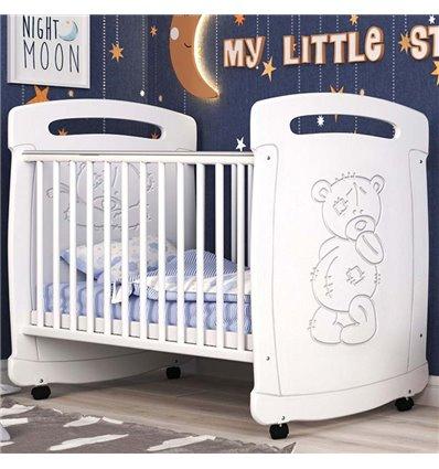 Детская кроватка СидиМ Тедди с ящиком