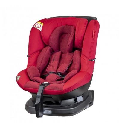 Автокресло детское Coletto Millo IsoFix красное, 0-18 кг