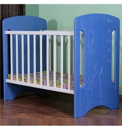 Детская кроватка СидиМ Коты с ящиком