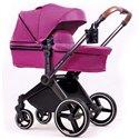 Детская коляска 2 в 1 Ninos Alba Purple