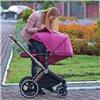 Детская коляска 2 в 1 Ninos Alba Melange Grey