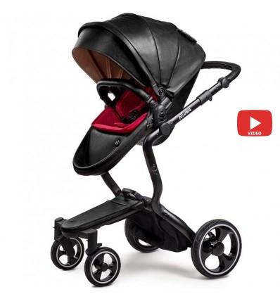 Детская коляска 2 в 1 Ninos A88 Black Edition