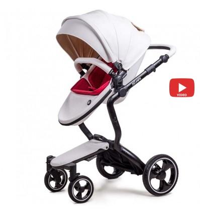 Детская коляска 2 в 1 Ninos A88 White Elegance