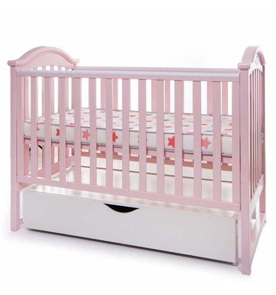 Детская кроватка Twins iLove розовая