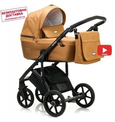Детская коляска 2 в 1 MiooBaby Alpha Ultra Bronze