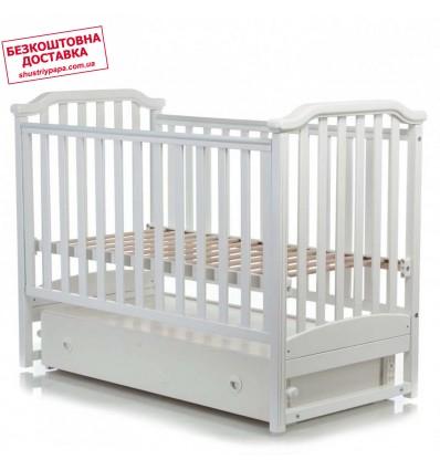 Детская кроватка MiooBaby Caprice White