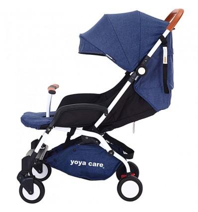 Детская прогулочная коляска Yoya Care 2018 темно синяя