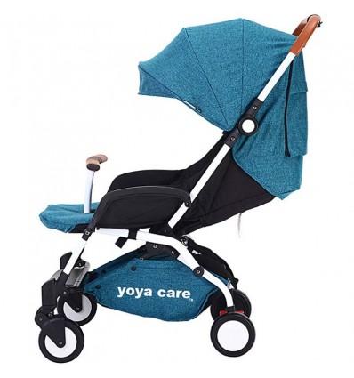 Детская прогулочная коляска Yoya Care 2018 синяя