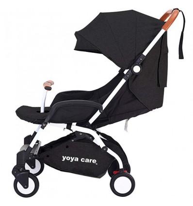 Детская прогулочная коляска Yoya Care 2018 черная