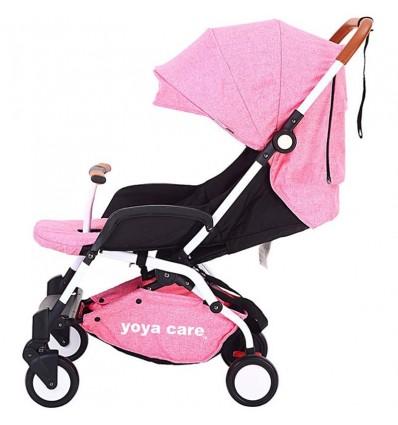 Детская прогулочная коляска Yoya Care 2018 розовая