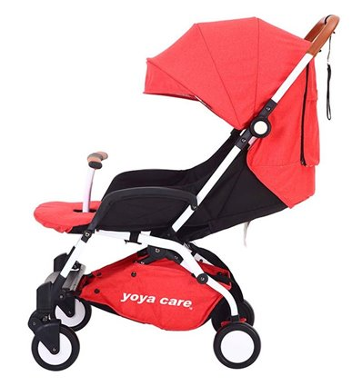 Детская прогулочная коляска Yoya Care 2018 красная