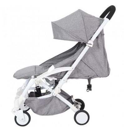 Детская прогулочная коляска Yoya Care Wider серая