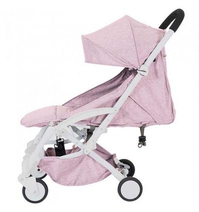 Детская прогулочная коляска Yoya Care Wider розовая