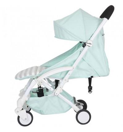 Детская прогулочная коляска Yoya Care Wider зеленая