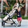 Детская прогулочная коляска Yoya Care Future 2019 золотая