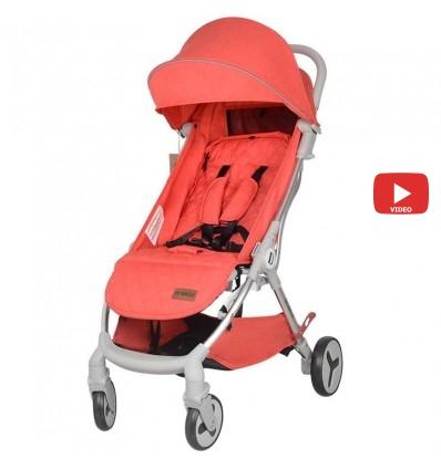 Детская прогулочная коляска Yoya Care Future 2019 красная