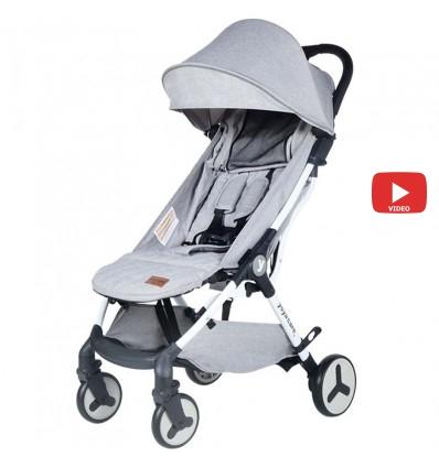Детская прогулочная коляска Yoya Care Future 2019 серая