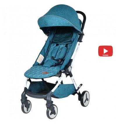 Детская прогулочная коляска Yoya Care Future 2019 синяя