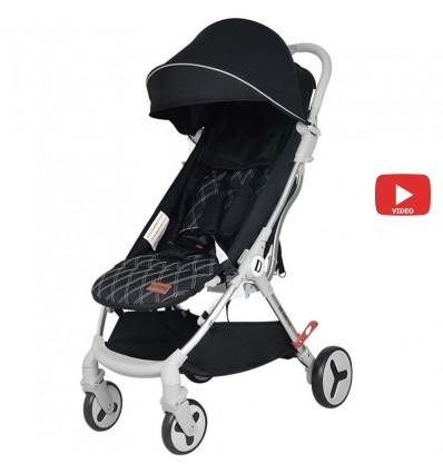 Детская прогулочная коляска Yoya Care Future 2019 черная