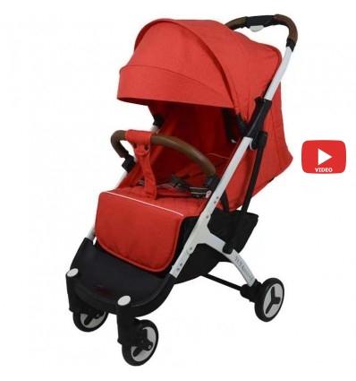 Детская прогулочная коляска Yoya Plus 3 красная