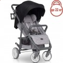 Детская прогулочная коляска Euro-Cart Flex Anthracite