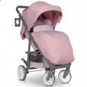 Детская прогулочная коляска Euro-Cart Flex Powder Pink