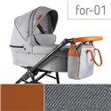 Детская коляска 2 в 1 Adbor Fortte For-01