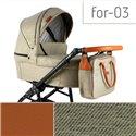 Детская коляска 2 в 1 Adbor Fortte For-03