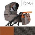 Детская коляска 2 в 1 Adbor Fortte For-04