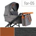 Детская коляска 2 в 1 Adbor Fortte For-05