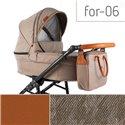 Детская коляска 2 в 1 Adbor Fortte For-06