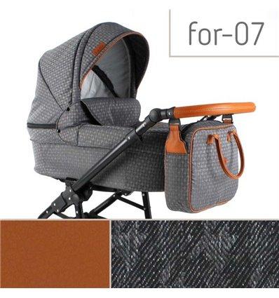 Детская коляска 2 в 1 Adbor Fortte For-07