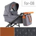 Детская коляска 2 в 1 Adbor Fortte For-08