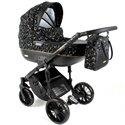 Детская коляска 2 в 1 Adbor Ottis Black Ob-02